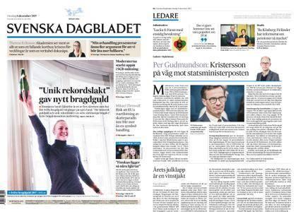 Svenska Dagbladet – 06 december 2017