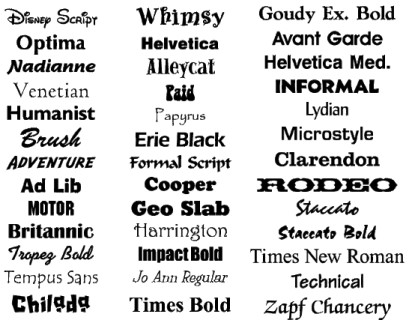 More Than 6000 Commercial Fonts