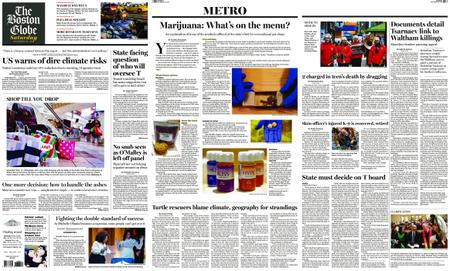 The Boston Globe – November 24, 2018