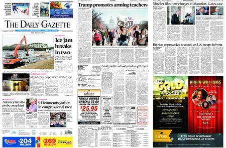 The Daily Gazette – February 23, 2018