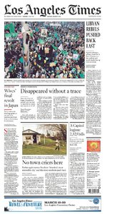 LOS ANGELES TIMES  05 06 07 MARCH 2011