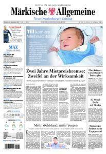 Neue Oranienburger Zeitung - 27. Dezember 2017
