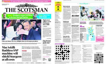 The Scotsman – January 10, 2019