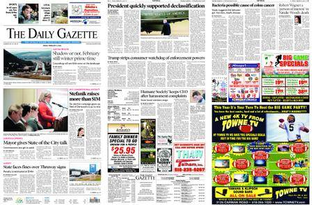 The Daily Gazette – February 02, 2018