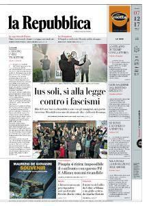 la Repubblica - 7 Dicembre 2017