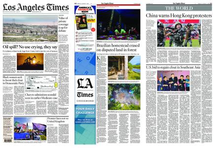 Los Angeles Times – August 02, 2019