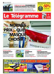 Le Télégramme Quimper – 21 août 2020