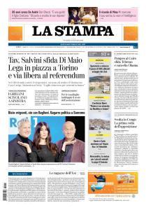 La Stampa Torino Provincia e Canavese - 11 Gennaio 2019