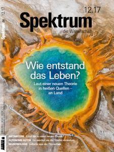 Spektrum der Wissenschaft No 12 – Dezember 2017