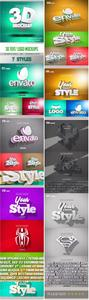 GraphicRiver - 3D Text Logo Mockup 23720872