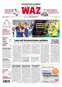WAZ Westdeutsche Allgemeine Zeitung Oberhausen-Sterkrade - 29. April 2019