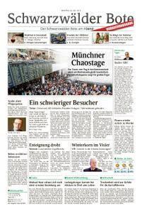 Schwarzwälder Bote Blumberg - 30. Juli 2018