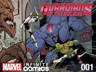 Guardians of the Galaxy Infinite Comic 001 2014  cover digital