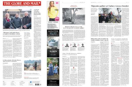 The Globe and Mail – March 02, 2020