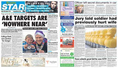 Shropshire Star Shrewsbury Edition – December 08, 2017