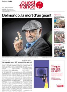 Ouest-France Édition France – 07 septembre 2021