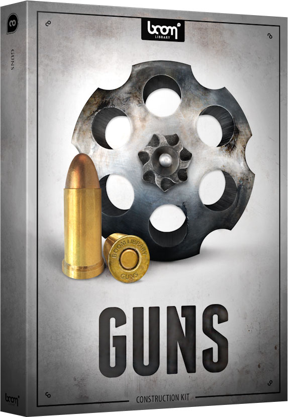 Boom Library Guns Construction Kit WAV