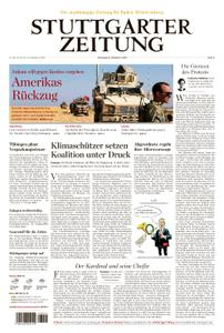 Stuttgarter Zeitung Blick vom Fernsehturm - 08. Oktober 2019