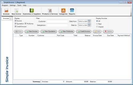 SimpleSoft Simple Invoice 3.17.5 Multilingual