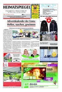 Heimatspiegel - 18. Oktober 2017