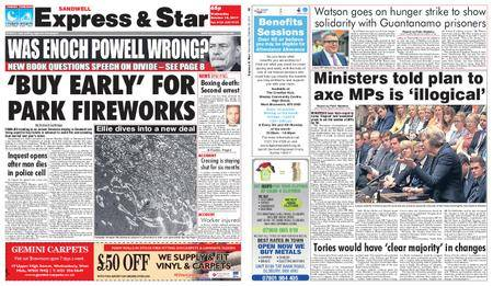 Express and Star Sandwell Edition – October 18, 2017