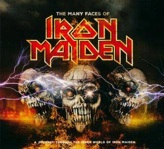 VA - The Many Faces Of Iron Maiden (2016) {3CD Box Set}