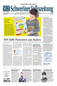 Schweriner Volkszeitung Hagenower Kreisblatt - 27. März 2020