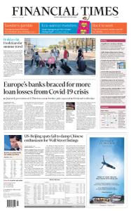 Financial Times Europe - July 27, 2020