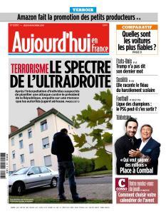 Aujourd'hui en France du Jeudi 8 Novembre 2018