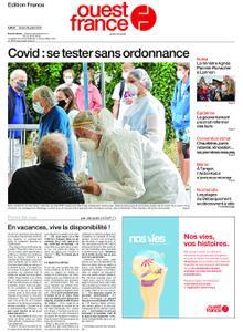 Ouest-France Édition France – 28 juillet 2020