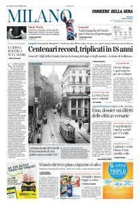 Corriere della Sera Milano - 20 Novembre 2017