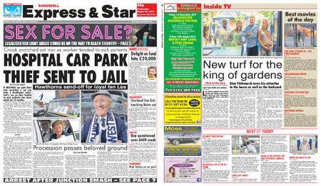 Express and Star Sandwell Edition – August 30, 2017