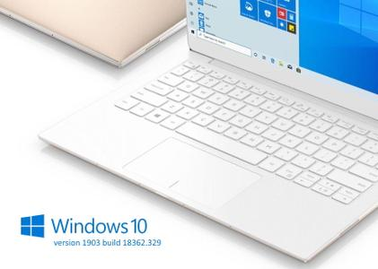 Windows 10 version 1903 Build 18362.329
