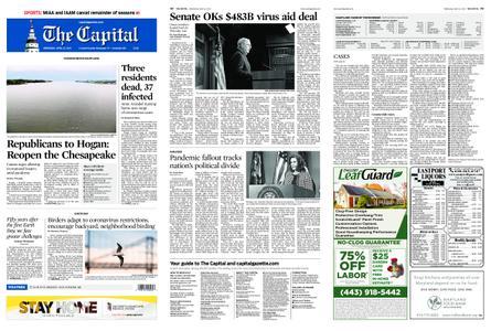 The Capital – April 22, 2020