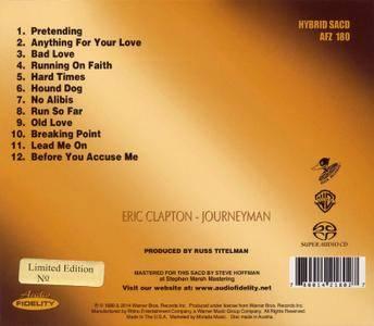 Eric Clapton - Journeyman (1989) [ Audio Fidelity, AFZ 180]