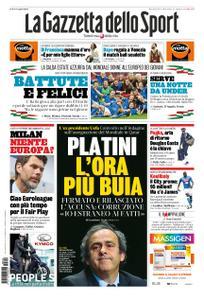 La Gazzetta dello Sport Roma – 19 giugno 2019