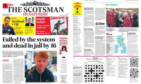The Scotsman – November 10, 2018