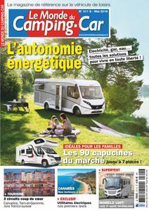 Le Monde du Camping-Car - mai 2019