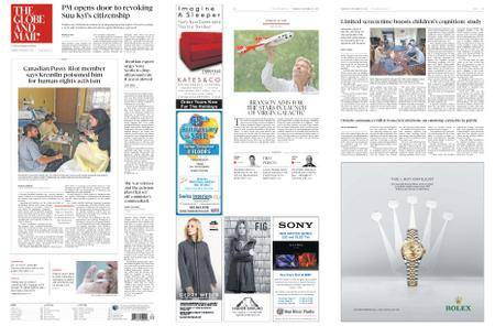 The Globe and Mail – September 27, 2018