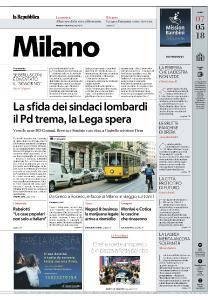 la Repubblica Milano - 7 Maggio 2018