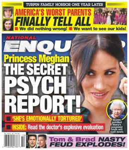 National Enquirer – March 11, 2019