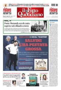 Il Fatto Quotidiano - 11 agosto 2019
