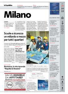 la Repubblica Milano - 20 Ottobre 2018