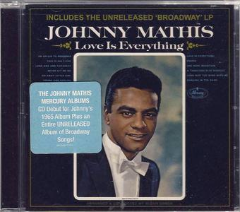 Johnny Mathis - Love Is Everything (1965) & Broadway (1964) [2012, Remastered Reissue]