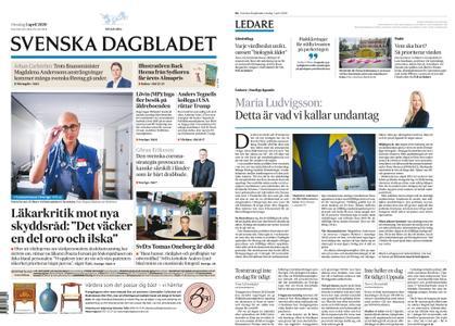 Svenska Dagbladet – 01 april 2020