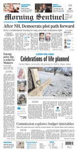 Morning Sentinel – February 13, 2020