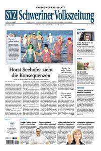 Schweriner Volkszeitung Hagenower Kreisblatt - 12. November 2018