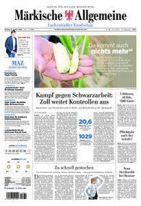 Märkische Allgemeine Luckenwalder Rundschau - 06. August 2018