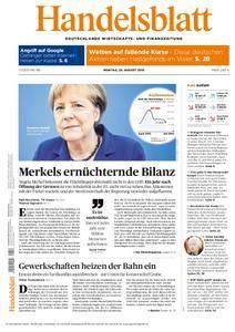 Handelsblatt - 29. August 2016