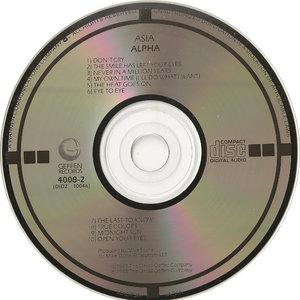 Asia - Alpha (1983)  (Japan Target CD) Re-Upload